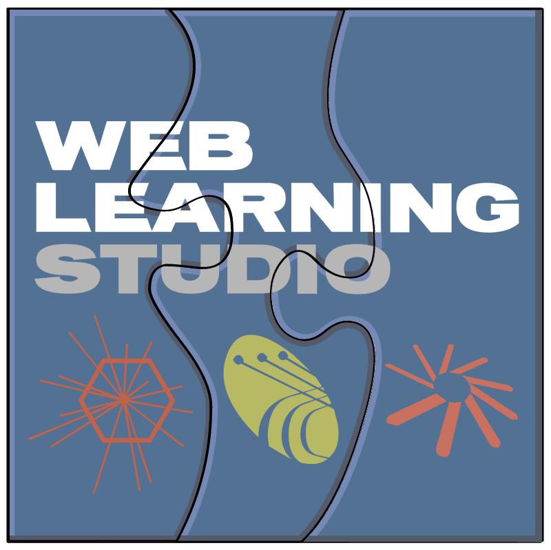 Web Learning Studio vector