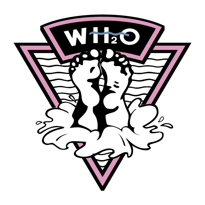 WH2O vector logo