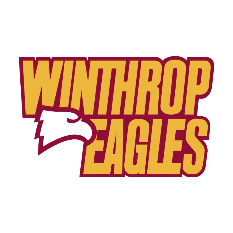 Winthrop Eagles vector logo