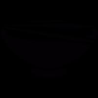 bowl of food vector