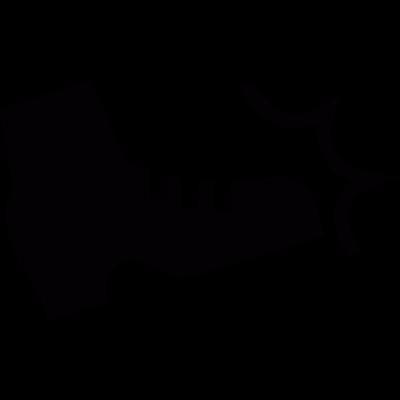 Kick vector logo