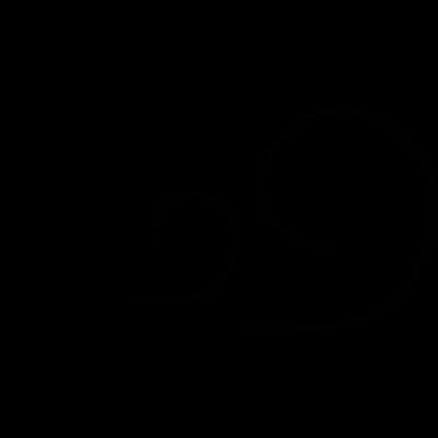 Windy, IOS 7 interface symbol vector logo