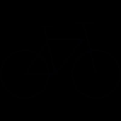 Bicycle, IOS 7 interface symbol vector logo