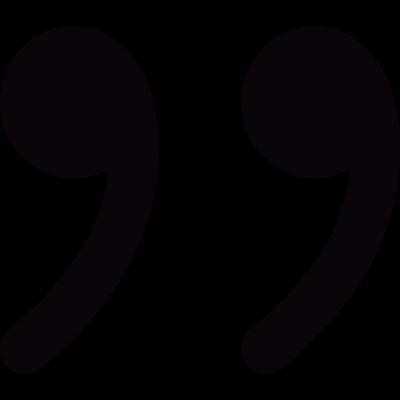 Quotations vector logo