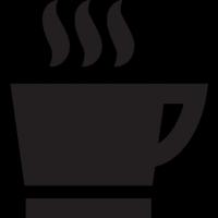 hot coffee mug vector