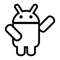 Android with One Arm Up vector