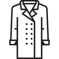 Men Coat vector