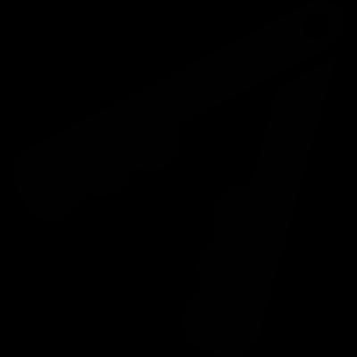 Inclined Nutcracker vector logo