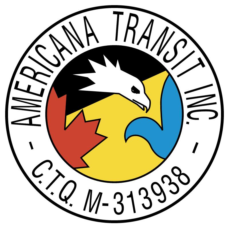 Americana Transit vector