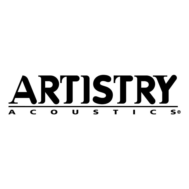 Artistry Acoustics 55660 vector