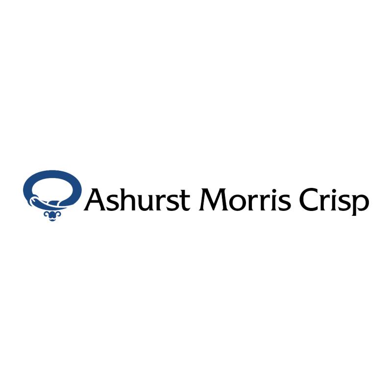 Ashurst Morris Crisp 67131 vector