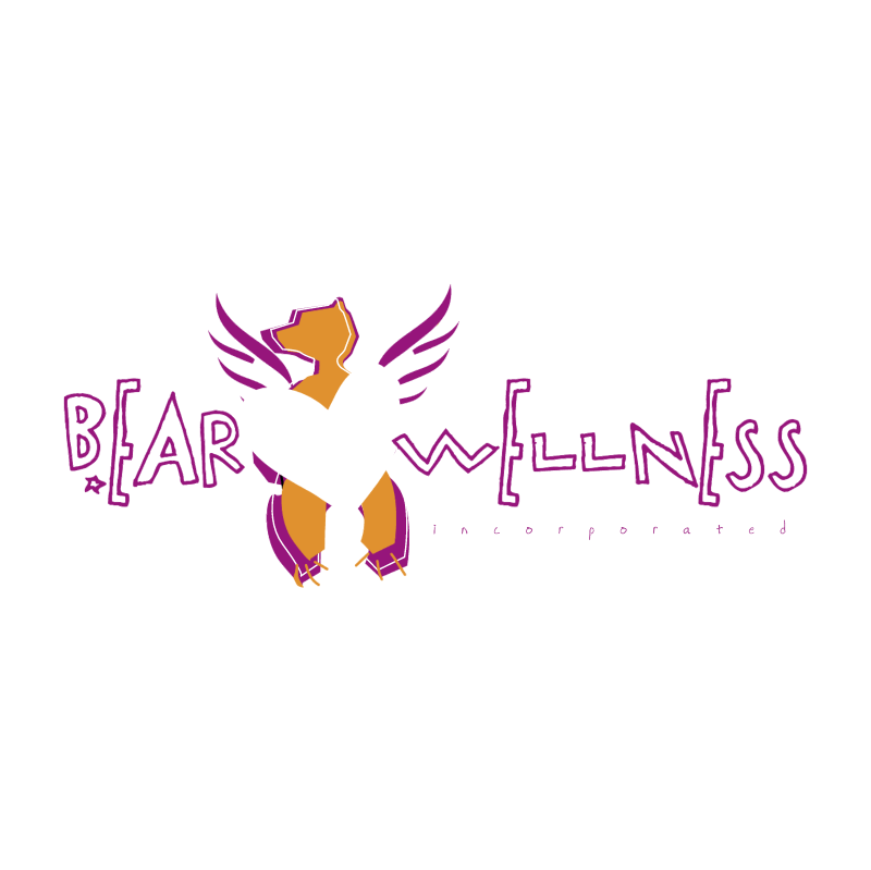 Bearwellness vector