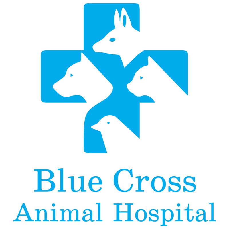 Blue Cross Animal Hospital vector