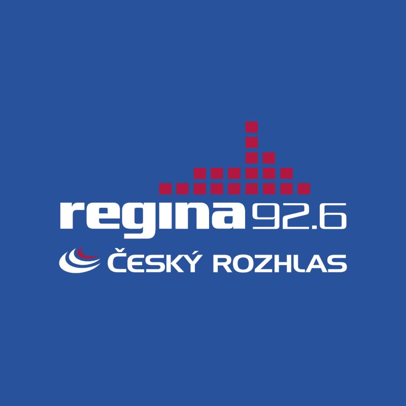 Cesky Rozhlas Regina vector