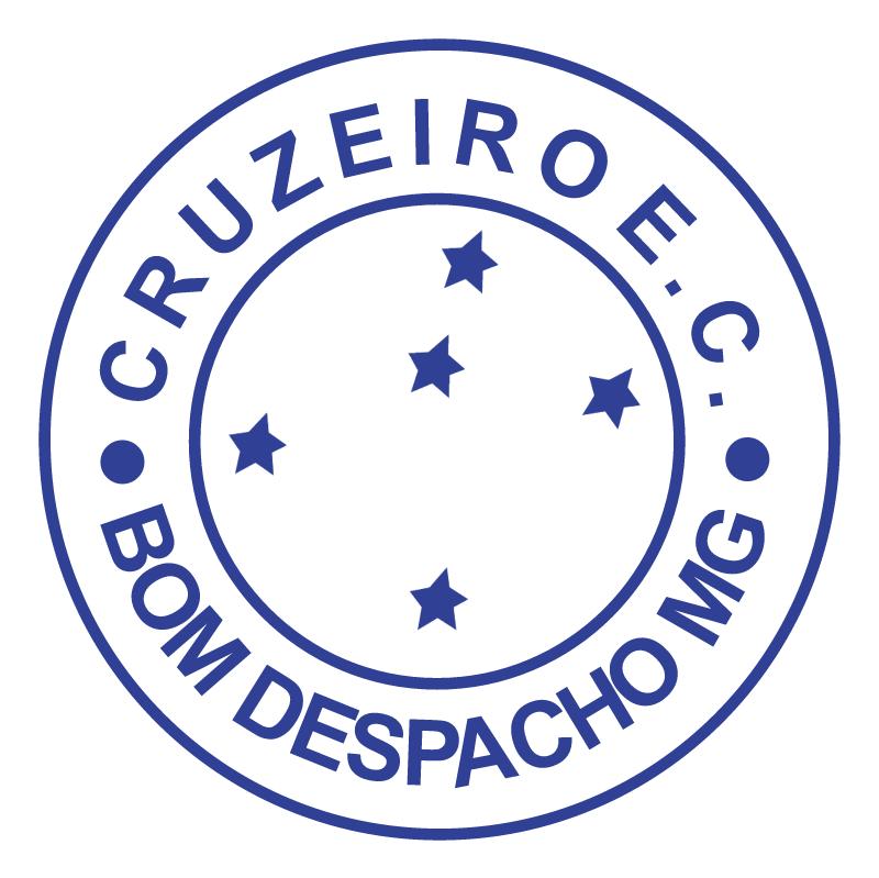 Cruzeiro Esporte Clube de Bom Despacho MG vector