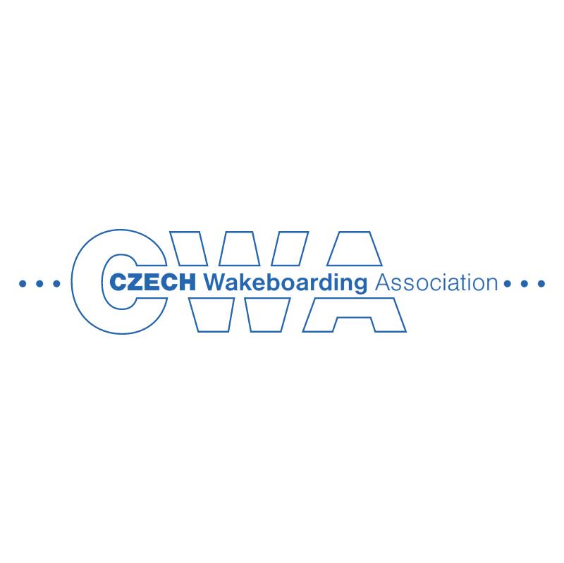 Czech Wakeboarding Association vector