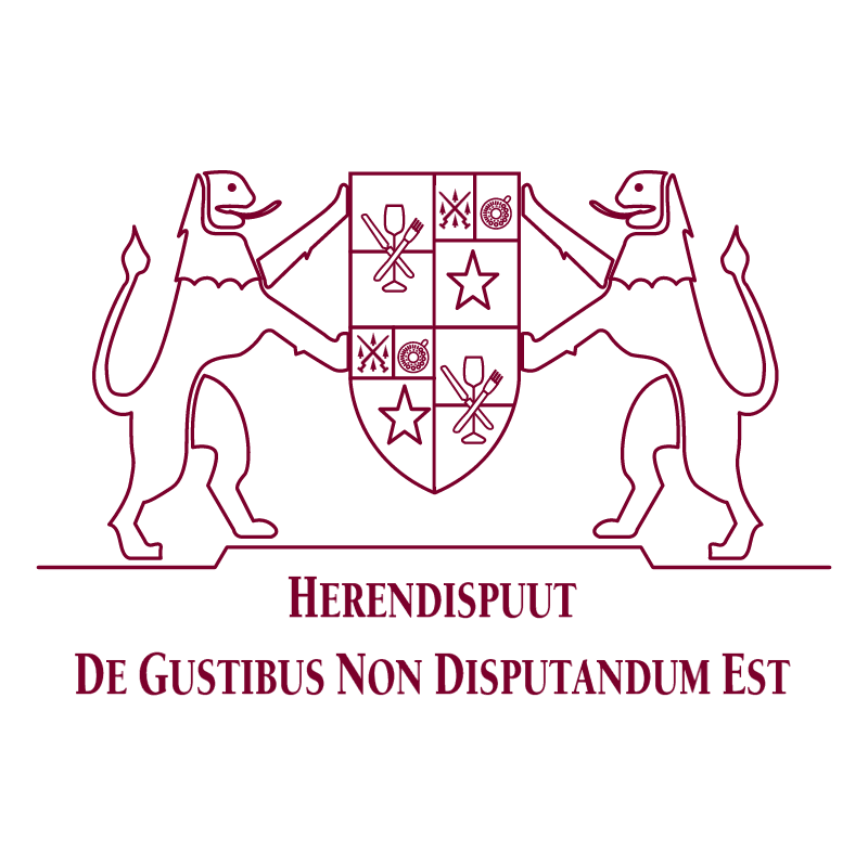De Gustibus Non Disputandum Est vector logo