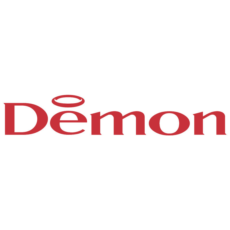 Demon Internet vector