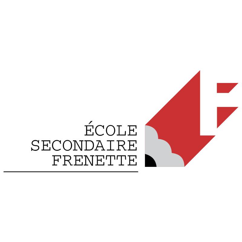 Ecole Secondaire Frenette vector