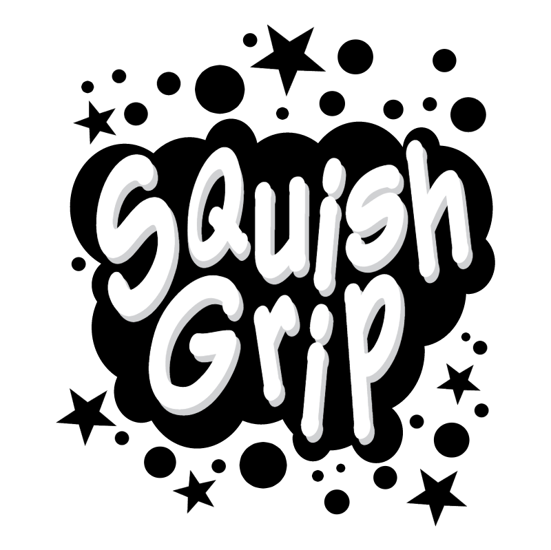 Gillette Squish Grip vector