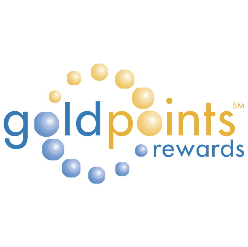 Gold Points vector logo
