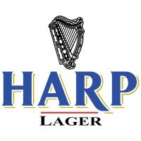 Harp Lager vector
