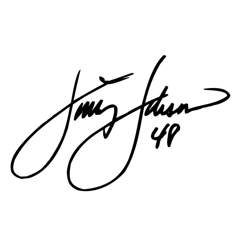 Jimmie Johnson Signature vector