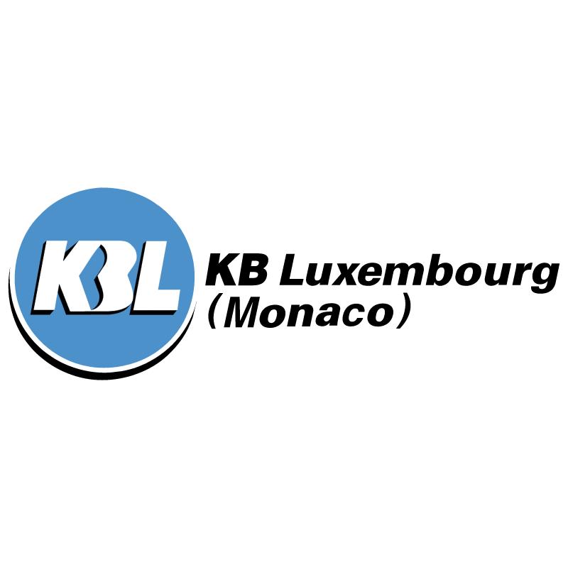 KBL KB Luxembourg Monaco vector