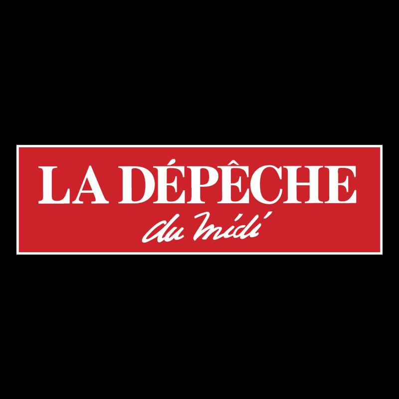 La Depeche du Midi vector
