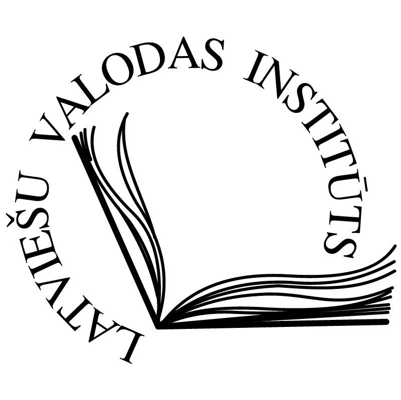 Latviesu Valodas Instituts vector