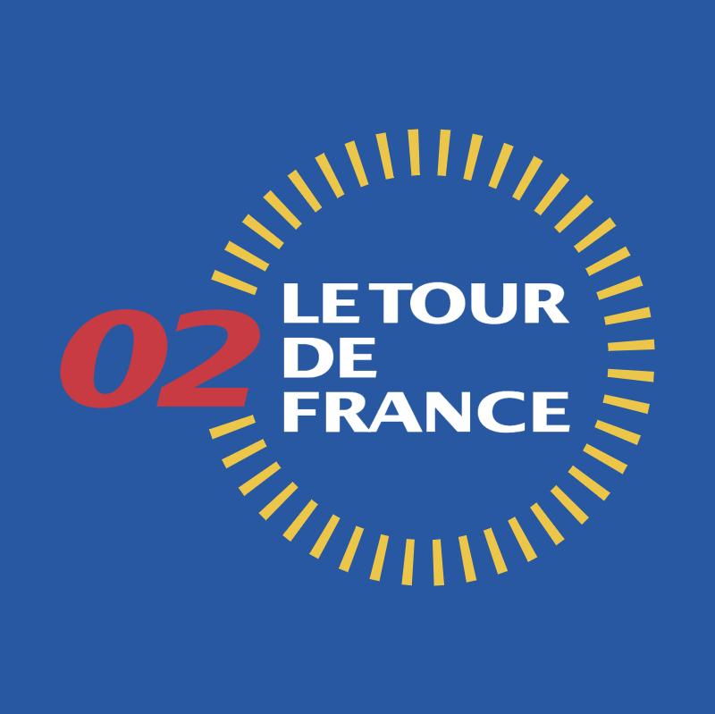 Le Tour de France 2002 vector logo