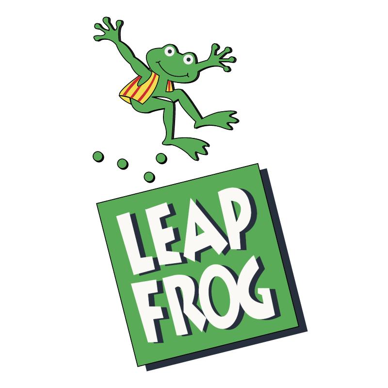Leapfrog vector logo