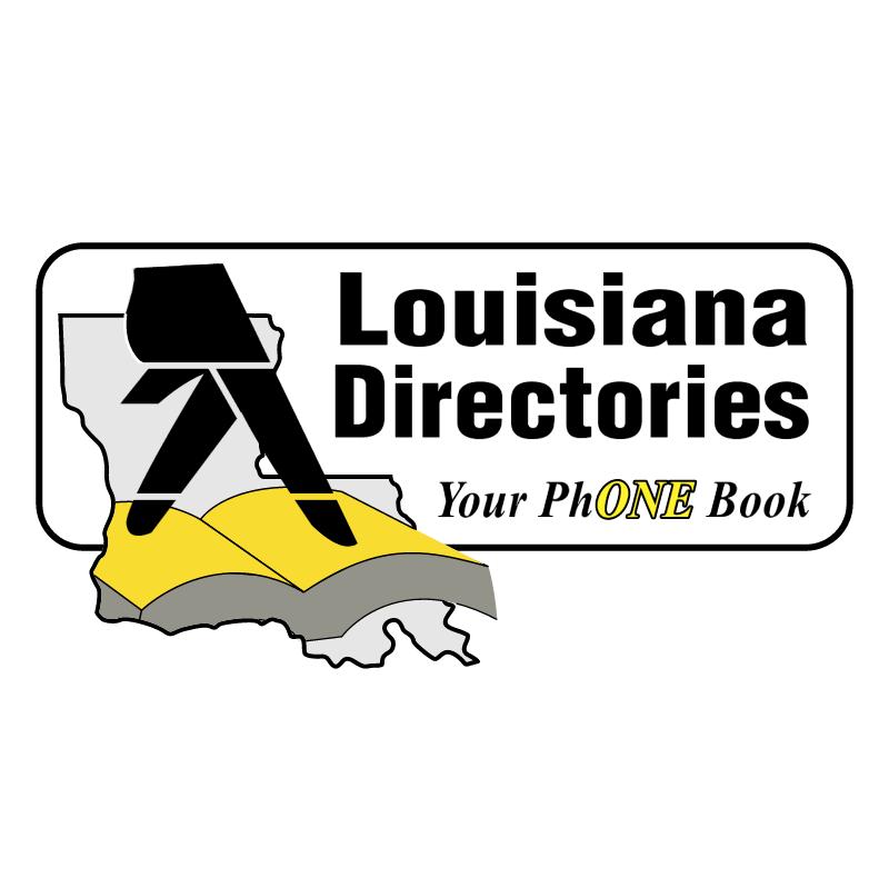 Louisiana Directories vector