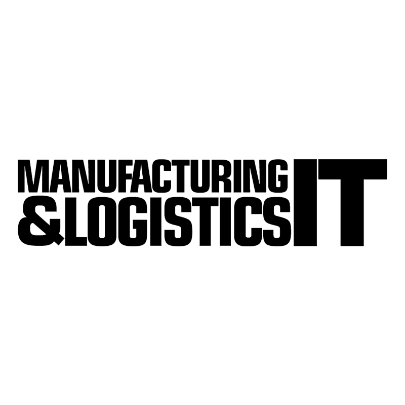 Manufacturing & Logistics IT vector logo
