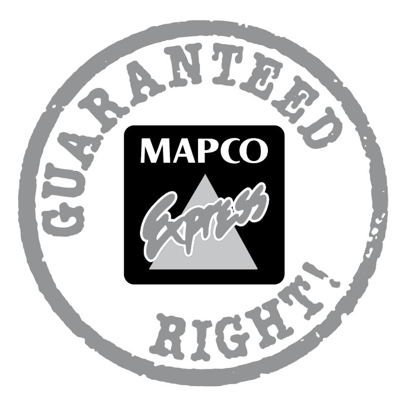 Mapco Express vector