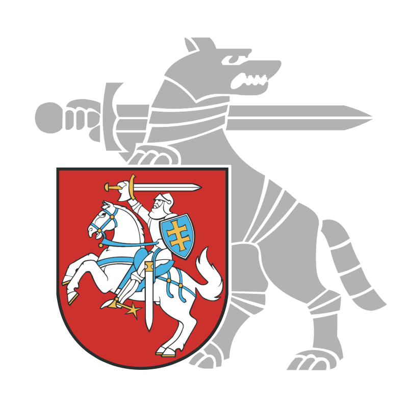 Ministry of National Defence of the Republic of Lithuania vector