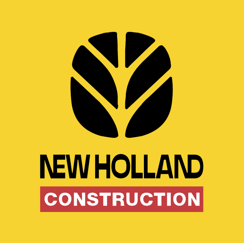 New Holland Construction vector logo