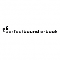 Perfectbound e book vector
