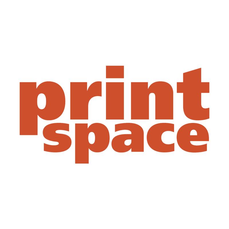Print Space vector