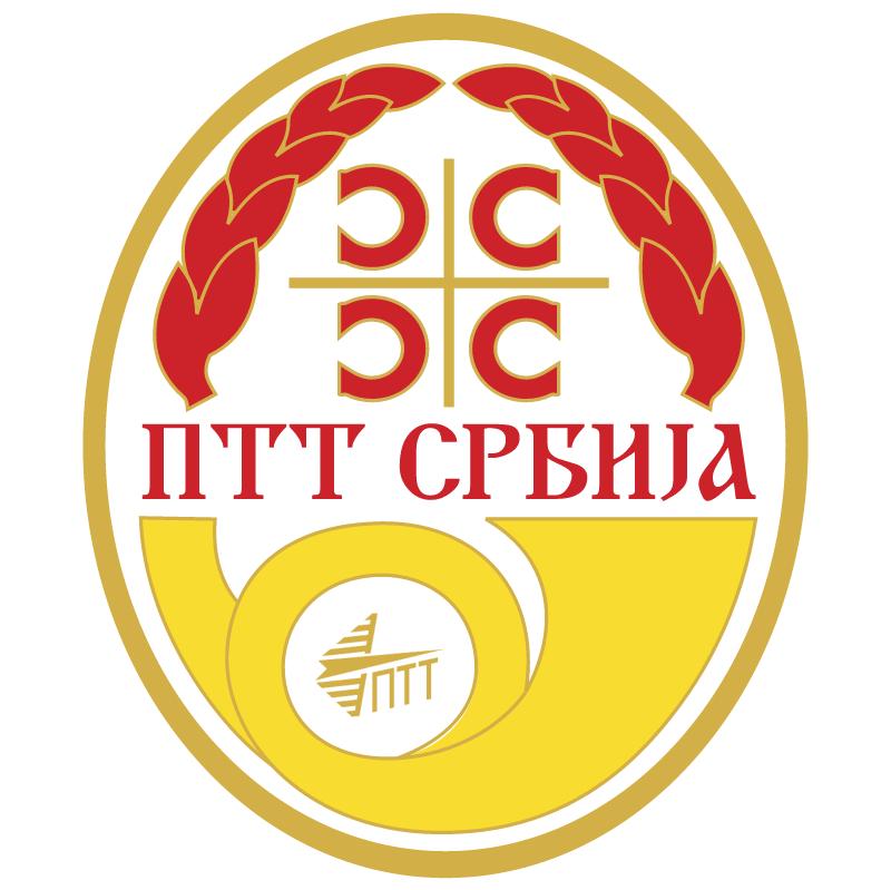 PTT Serbiya vector