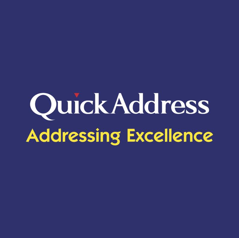 QuickAddress vector