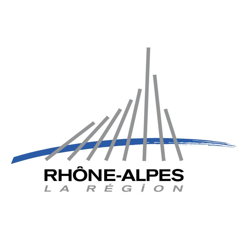 Region Rhone Alpes vector