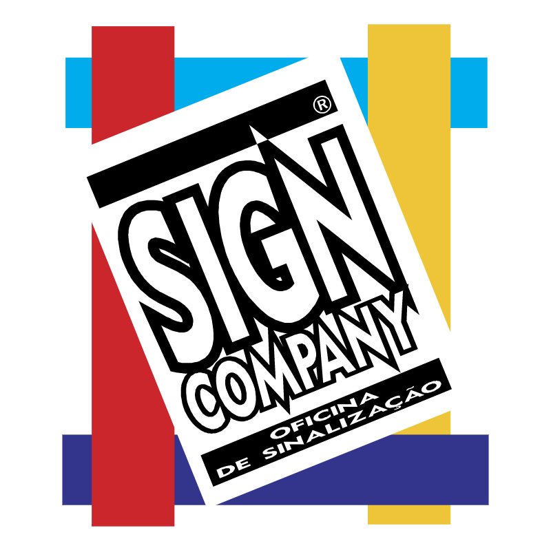 Sign Company vector