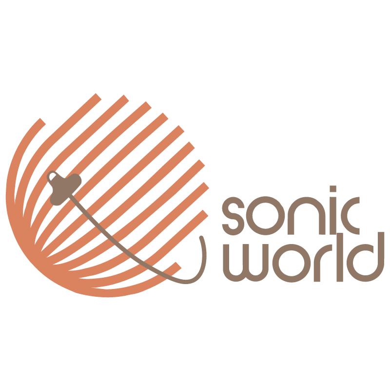 Sonic World vector logo