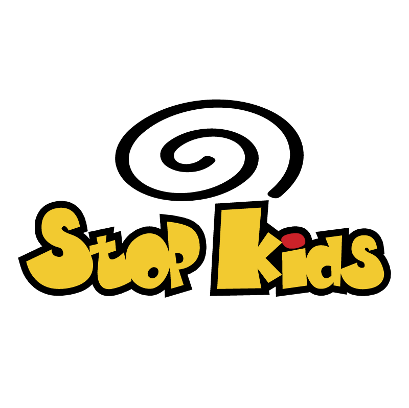Stop Kids vector