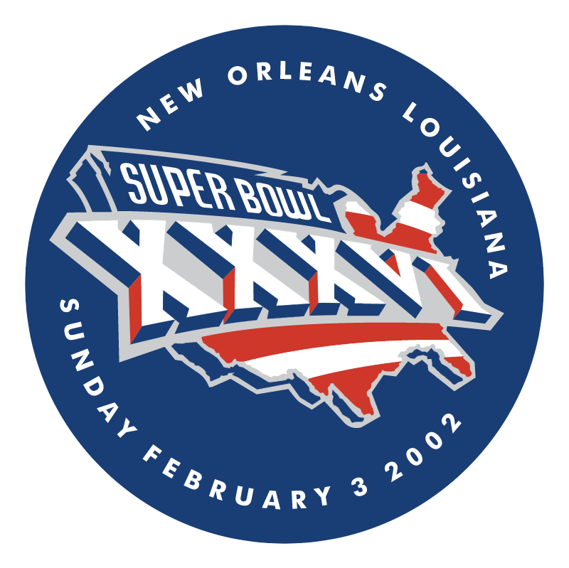 Super Bowl 2002 vector