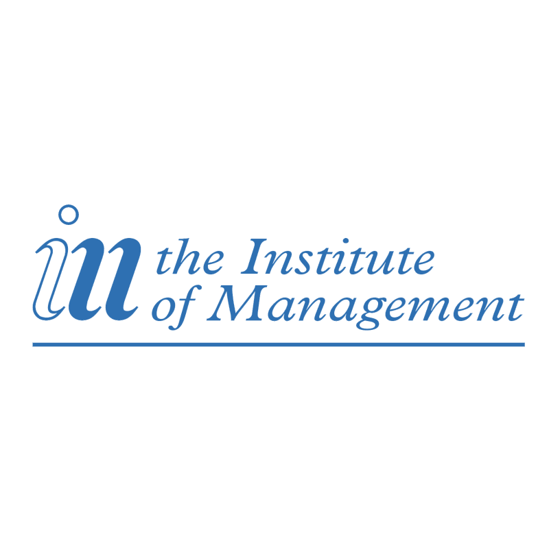 The Institute of Management vector