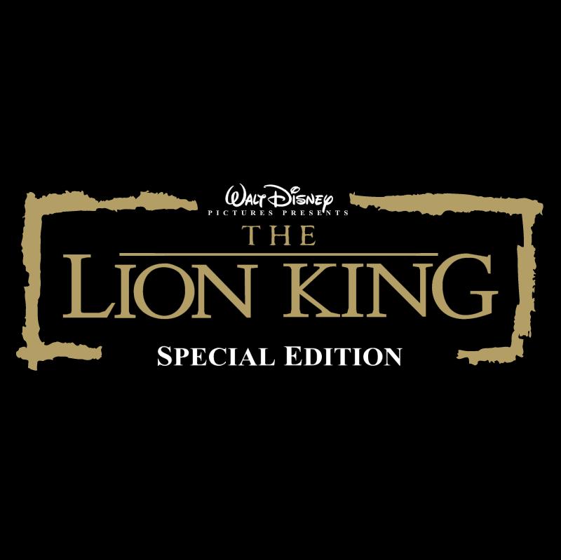 The Lion King vector logo