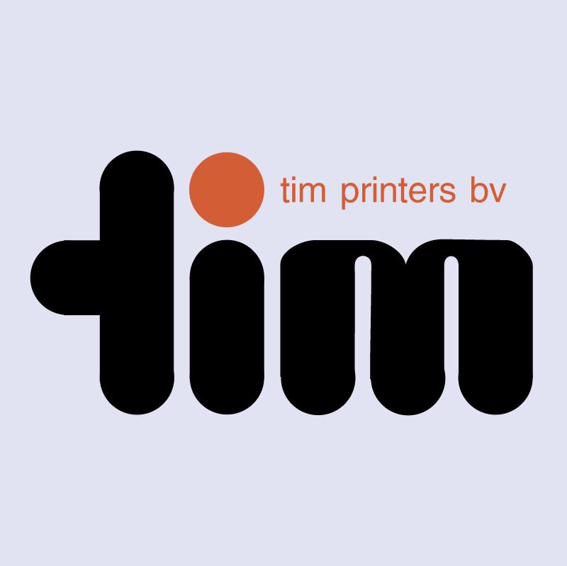 Tim Printers vector logo