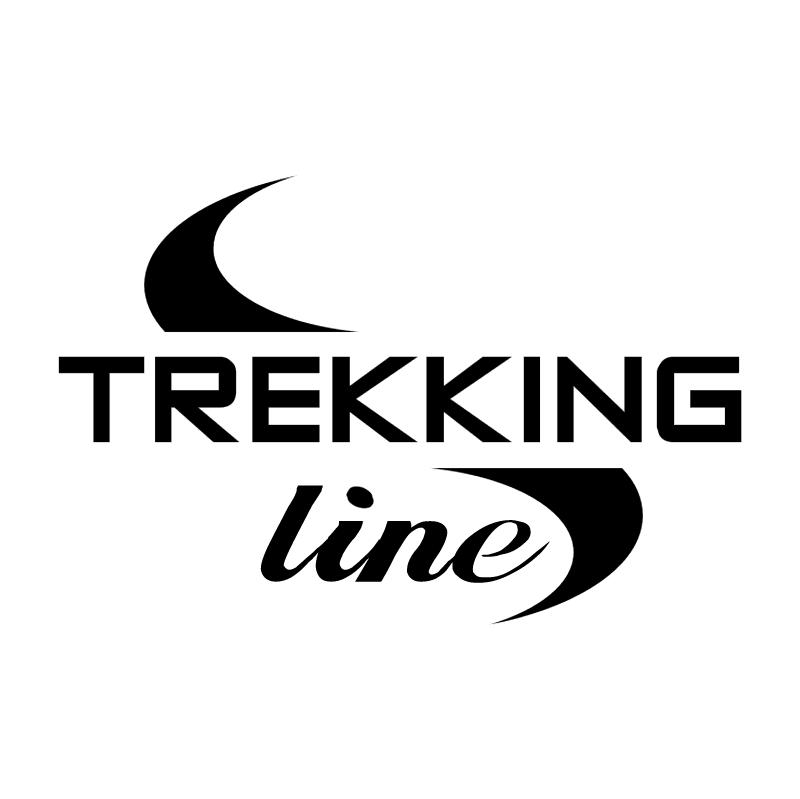 Trekking Line vector